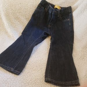 Toddler boot-cut jeans